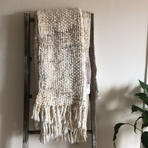 West Elm Throw Blanket New West Elm Other Marled Basketweave Throw Blanket Poshmark